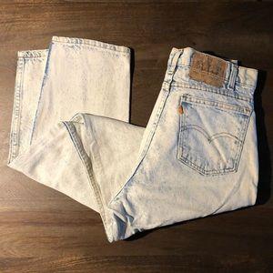 Vintage 1980s Levi's 550 Jeans Size 33